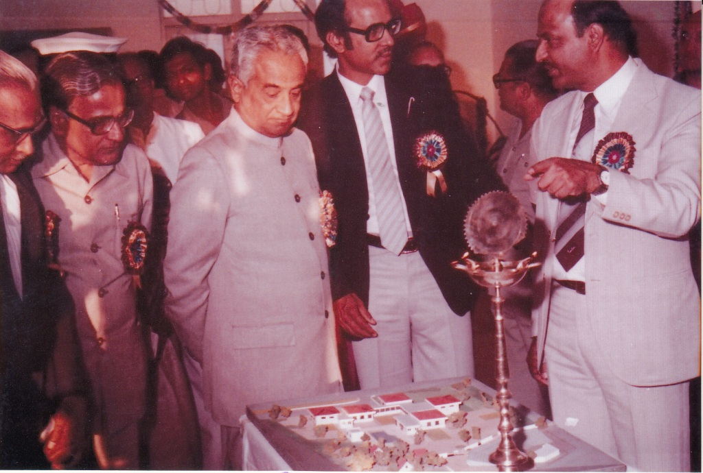 14 Nov 1983 Inauguration of Sanstha