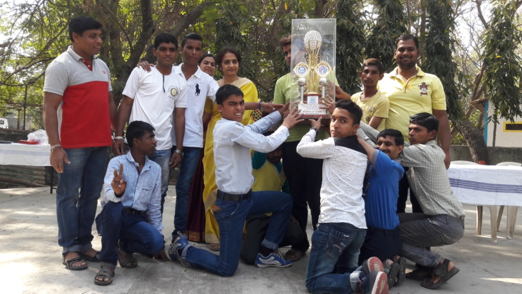 National Crickt Winner of balkalyan pune